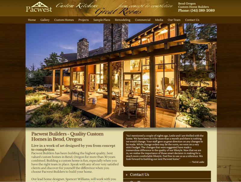 Bend Oregon Web Design   Website Designer Serving Prineville ...