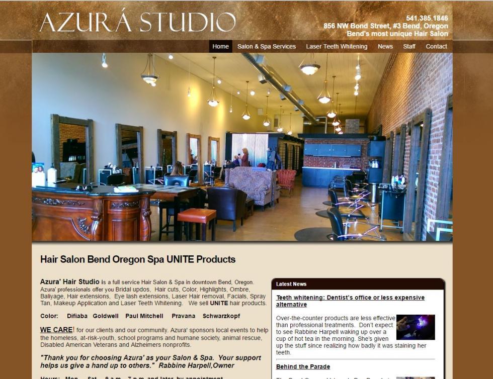 Website Design Showcase for restaurant websites, construction