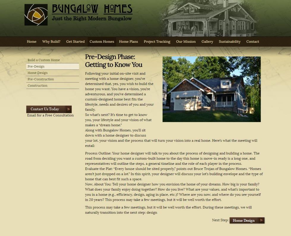 Website Design Showcase for restaurant websites, construction ...